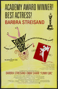 """Movie Posters:Musical, Funny Girl (Columbia, 1968). One Sheet (25"""" X 39"""") Academy Award Style B. Musical...."""