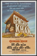 "Movie Posters:Adventure, Genghis Khan (Columbia, 1965). One Sheet (27"" X 41""). Adventure...."