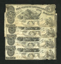 Obsoletes By State:Louisiana, Baton Rouge, LA- State of Louisiana $5 Oct. 10, 1862 Four Examples.. ... (Total: 4 notes)
