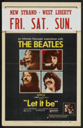 "Movie Posters:Rock and Roll, Let It Be (United Artists, 1970). Window Card (14"" X 22""). Rock andRoll...."