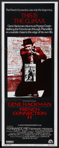 """Movie Posters:Action, French Connection II (20th Century Fox, 1975). Insert (14"""" X 36"""").Action...."""
