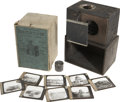 General Historic Events:World Fairs, World's Columbian Exposition: Polyopticon Camera and Lantern Slides.... (Total: 9 Items)
