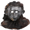 Movie/TV Memorabilia:Costumes, Ape Mask from an Unknown Early Production....