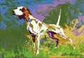 Fine Art - Painting, American:Contemporary   (1950 to present)  , LEROY NEIMAN (American, b. 1926). Bird Dog (German ShorthairedPointer), 1975. Oil on board. Signed and dated lower righ...