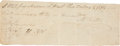 """Autographs:Statesmen, Moses Austin Promissory Note Signed """"M Austin"""". One page,7.5"""" x 2.75"""", August 29, 1801, St. Genevieve [Missouri], stati...(Total: 2 Items)"""