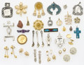 Estate Jewelry:Lots, Bag Lot of Costume Jewelry. ... (Total: 137 Items)