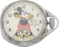 Timepieces:Pocket (post 1900), Ingersoll Early Mickey Mouse Pocket Watch, circa 1930. ...