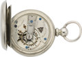 Timepieces:Pocket (post 1900), United States Watch Co. S.M. Beard Keywind, circa 1873. ...