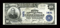 National Bank Notes:Maryland, Hagerstown, MD - $10 1902 Plain Back Fr. 624 The First NB Ch. #1431. ...