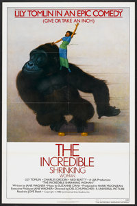 """The Incredible Shrinking Woman (Universal, 1981). One Sheet (27"""" X 41"""") Style B. Comedy"""