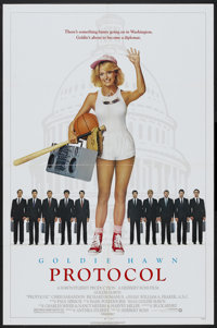"Protocol (Warner Brothers, 1984). One Sheet (27"" X 41""). Comedy"