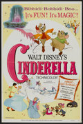 "Movie Posters:Animated, Cinderella (Buena Vista, R-1973). One Sheet (27"" X 41""). Animated...."
