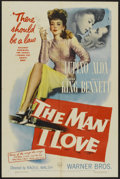 "Movie Posters:Crime, The Man I Love (Warner Brothers, 1947). One Sheet (27"" X 41"").Crime...."