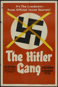 "Movie Posters:War, The Hitler Gang (Paramount, 1944). One Sheet (27"" X 41"") Style A.War...."