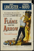 "Movie Posters:Adventure, The Flame and the Arrow (Warner Brothers, 1950). One Sheet (27"" X41""). Adventure...."