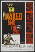 "Movie Posters:War, Naked and The Dead (Warner Brothers, 1958). One Sheet (27"" X 41"").War...."