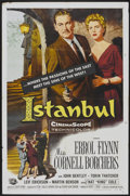 "Movie Posters:Adventure, Istanbul (Universal International, 1957). One Sheet (27"" X 41"").Adventure...."