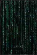 "Movie Posters:Science Fiction, The Matrix Reloaded (Warner Brothers, 2003). Lenticular One Sheet(27"" X 40"") SS Advance. Science Fiction...."