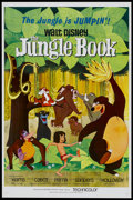 "Movie Posters:Animated, The Jungle Book (Buena Vista, 1967). One Sheet (27"" X 41"").Animated...."