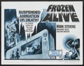 "Movie Posters:Science Fiction, Frozen Alive (Magna Pictures, 1966). Half Sheet (22"" X 28"").Science Fiction...."