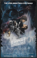 "Movie Posters:Science Fiction, The Empire Strikes Back (20th Century Fox, 1980). Standee (36"" X56""). Science Fiction...."