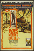 "Movie Posters:War , I Was Monty's Double (NTA, 1959). Poster (40"" X 60""). War ...."