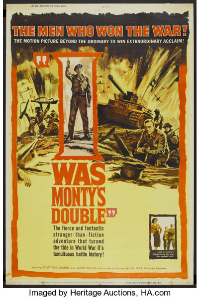 I Was Monty's Double (NTA, 1959)  Poster (40