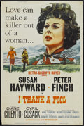 "Movie Posters:Drama, I Thank a Fool (MGM, 1962). Poster (40"" X 60""). Drama...."