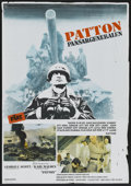 "Movie Posters:Academy Award Winner, Patton (20th Century Fox, 1970). Swedish One Sheet (27.5"" X 39.5"").Academy Award Winner...."