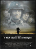 "Movie Posters:War, Saving Private Ryan (Paramount, 1998). French Grande (46.5"" X62.5""). War...."
