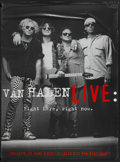 """Movie Posters:Rock and Roll, Van Halen Live: Right Here, Right Now (Warner Brothers, 1993).Video Poster (42"""" X 58""""). Rock and Roll...."""