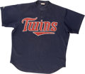 Baseball Collectibles:Uniforms, 1990s Kirby Puckett Batting Practice Worn Jersey....