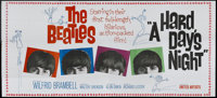 "A Hard Day's Night (United Artists, 1964). 24 Sheet (104"" X 232""). Rock and Roll"
