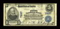 National Bank Notes:Virginia, Christiansburg, VA - $5 1902 Plain Back Fr. 598 The First NB Ch. #7937. ...