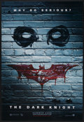 "Movie Posters:Action, The Dark Knight (Warner Brothers, 2008). One Sheet (27"" X 40"") DS Advance Style B. Action...."