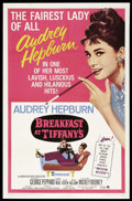 "Movie Posters:Romance, Breakfast At Tiffany's (Paramount, R-1965). One Sheet (27"" X 41"").Romance...."