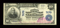 National Bank Notes:Virginia, Lexington, VA - $10 1902 Plain Back Fr. 624 The Peoples NB Ch. #7173. ...