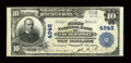 National Bank Notes:Pennsylvania, Coudersport, PA - $10 1902 Plain Back Fr. 631 The First NB Ch. # 4948. ...