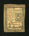 Colonial Notes:Pennsylvania, Pennsylvania October 1, 1773 20s Extremely Fine-About New....