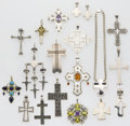 Estate Jewelry:Lots, Multi-Stone, Freshwater Cultured Pearl, Silver Jewelry Lot . ... (Total: 45 Items)