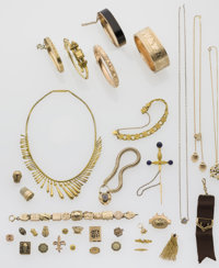Multi-Stone, Gold, Gold-Filled, Silver Jewelry Lot