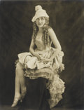 Photography :20th Century , ALFRED CHENEY JOHNSTON (American, 1885-1971). Mary Pickford c, circa 1920. Toned silver gelatin, circa 1920. Paper: 13-1...