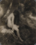 Photography :20th Century , JESSE T. BANFIELD (20th Century). Nude, circa 1910. Toned silver gelatin, circa 1910. 12-3/4 x 10-1/2 inches (32.4 x 26....