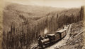 Photography :Albumen , WILLIAM HENRY JACKSON (American, 1843-1942). Marshall Pass, West Side, 1880-1881. Albumen, 1880-1881. 5-3/4 x 9-3/4 inch...