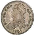Bust Half Dollars, 1807 50C Capped Bust, Small Stars XF40 PCGS....