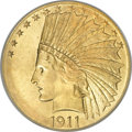 Indian Eagles, 1911 $10 MS67 PCGS....