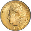 Indian Eagles, 1912-S $10 MS66 PCGS....