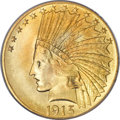 Indian Eagles, 1915 $10 MS66 PCGS....