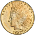 Indian Eagles, 1920-S $10 MS66 PCGS....