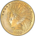 Indian Eagles, 1932 $10 MS66 PCGS....